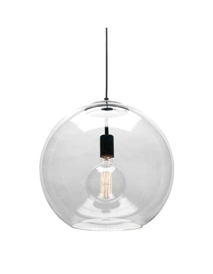 Orpheus glass Pendant Light Large