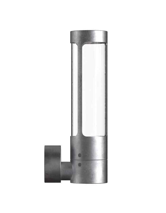 Outdoor - Helix Galvanised LED Outdoor Wall Light