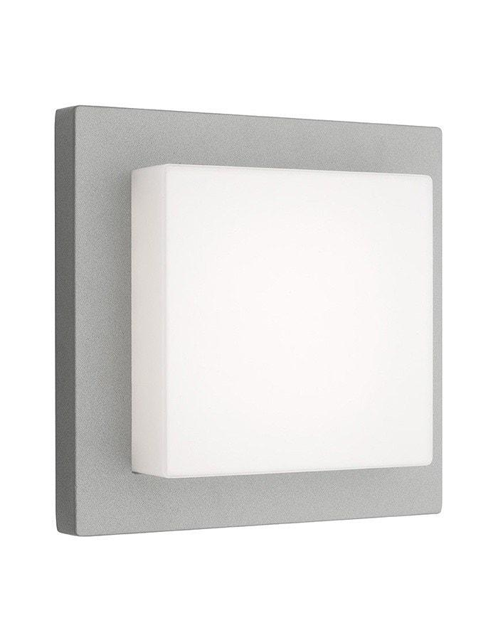 Outdoor Wall - Bodo Silver Outdoor Wall Light