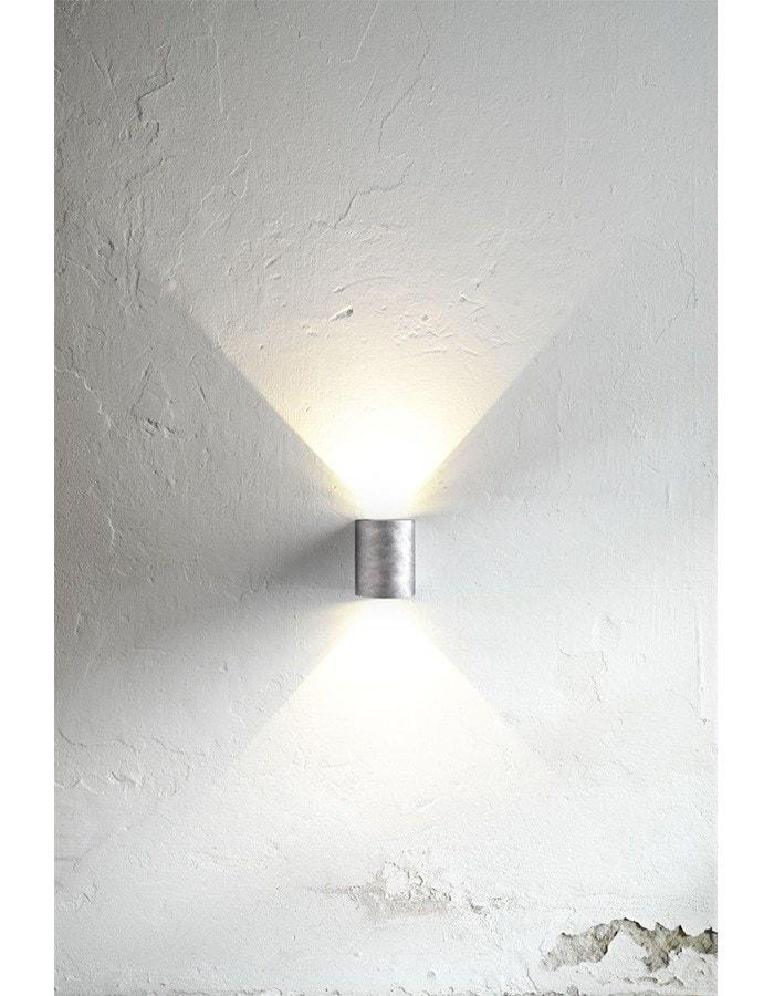 Outdoor Wall Light - Canto Galvanised LED Outdoor Wall Light