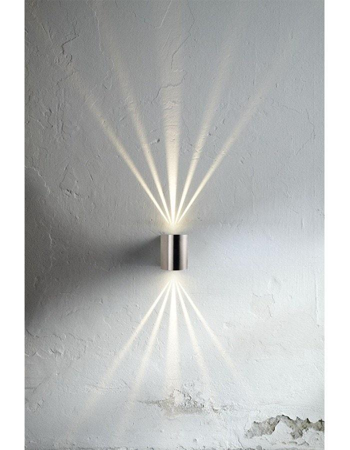 Outdoor Wall Light - Canto Stainless Steel LED Outdoor Wall Light
