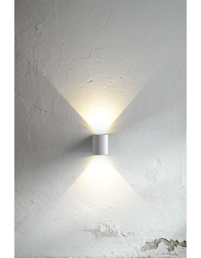 Outdoor Wall Light - Canto White LED Outdoor Wall Light