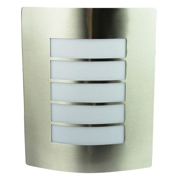 Outdoor Wall Light - Cheeta Stainless Steel Outdoor Wall Light