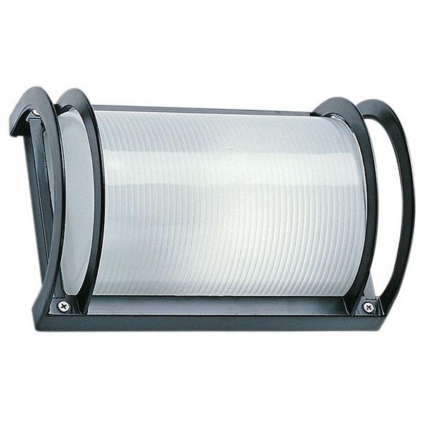 Outdoor Wall Light - Cylinder Black Outdoor Wall Light