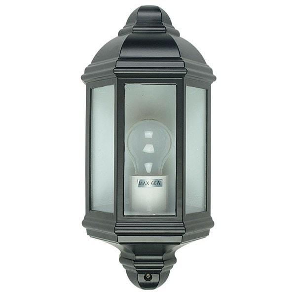 Outdoor Wall Light - Fenchurch Black Outdoor Wall Light