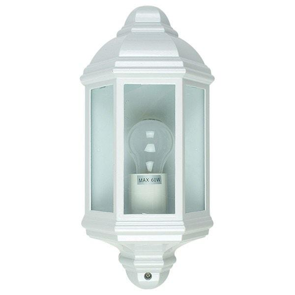 Outdoor Wall Light - Fenchurch White Outdoor Wall Light