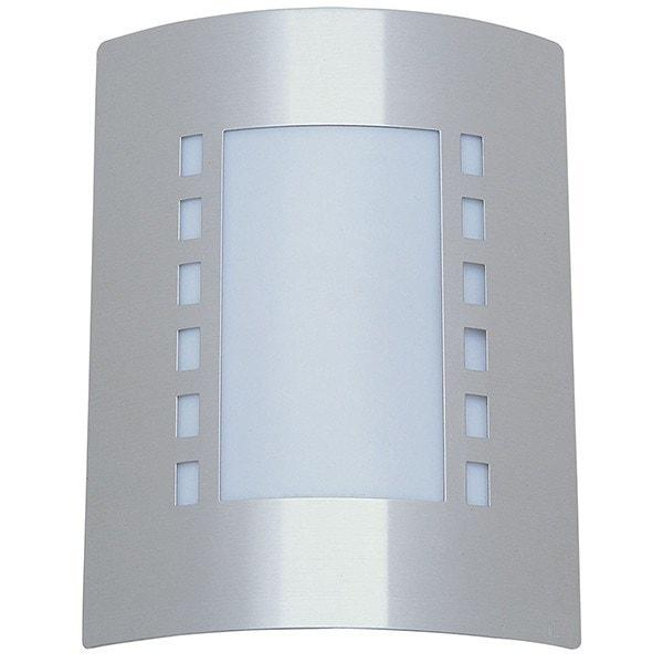 Outdoor Wall Light - Guardian Dashes Stainless Steel Outdoor Wall Light