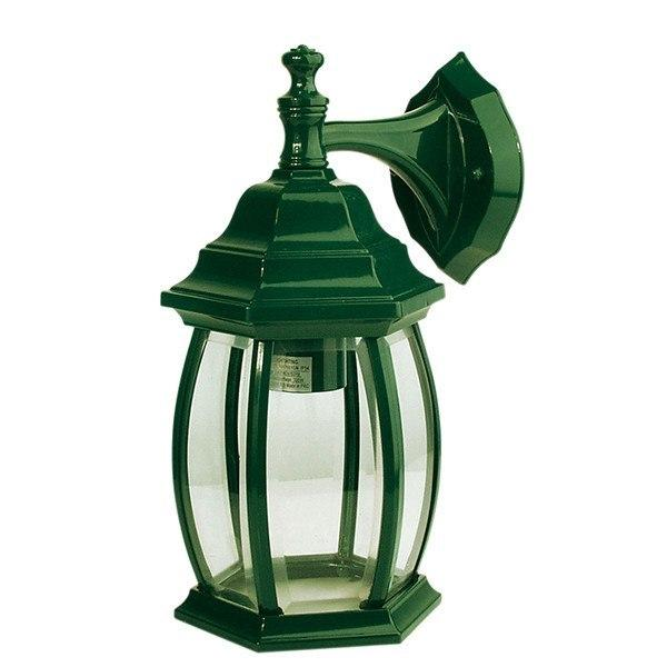 Outdoor Wall Light - Highgate Down Green Outdoor Wall Light