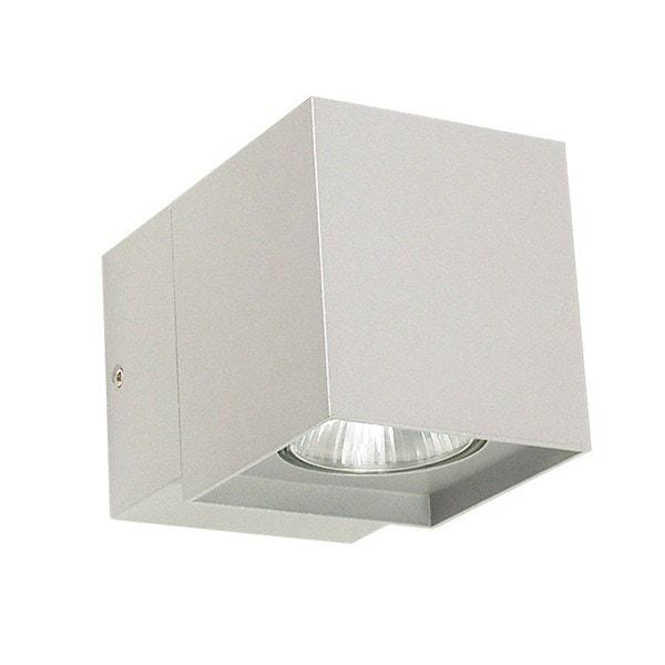 Outdoor Wall Light - Kobe Single Silver Outdoor Wall Light