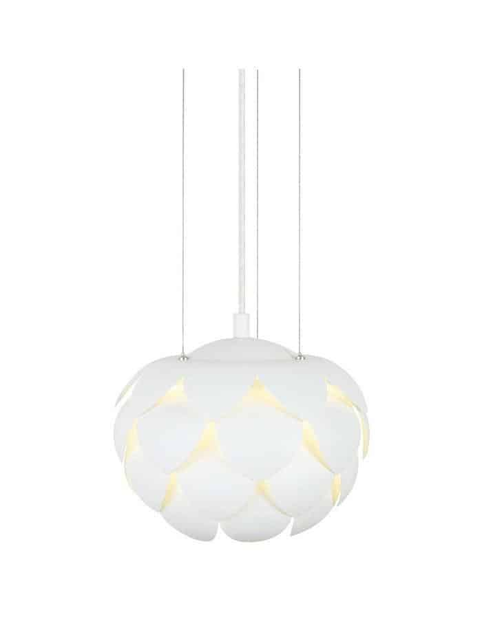 Pendant - Acantus White Pendant Light