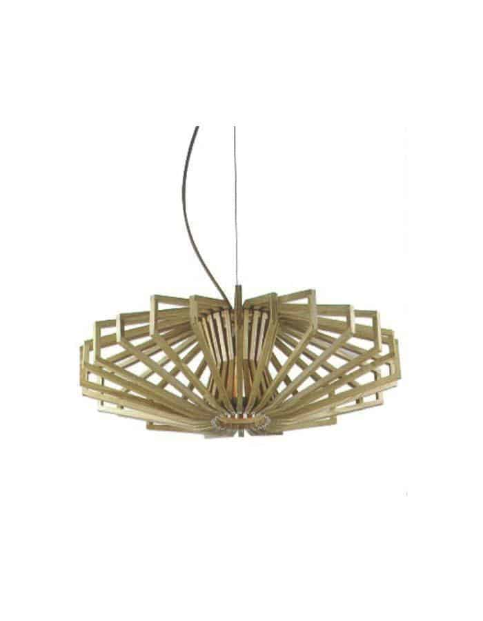 Pendant - Agry Scandinavian Wood Pendant Light