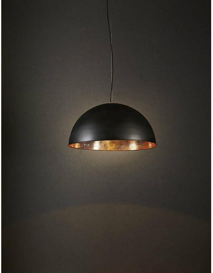 Pendant - Alfresco Black And Copper Pendant Light