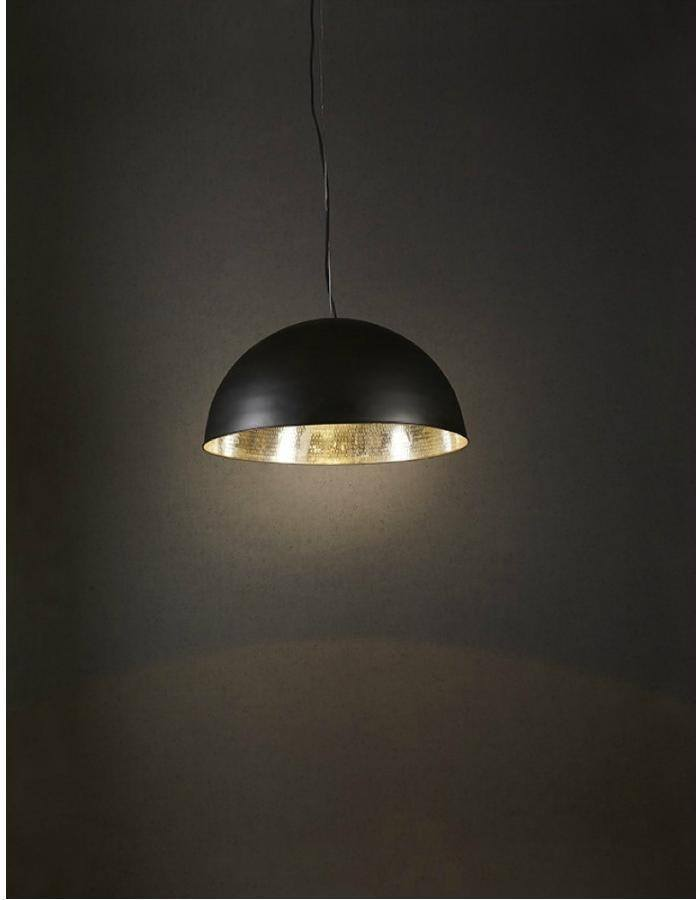 Pendant - Alfresco Black And Silver Pendant Light