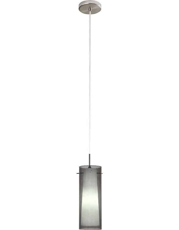 Pendant - Amore Single Smoke Glass Pendant Light