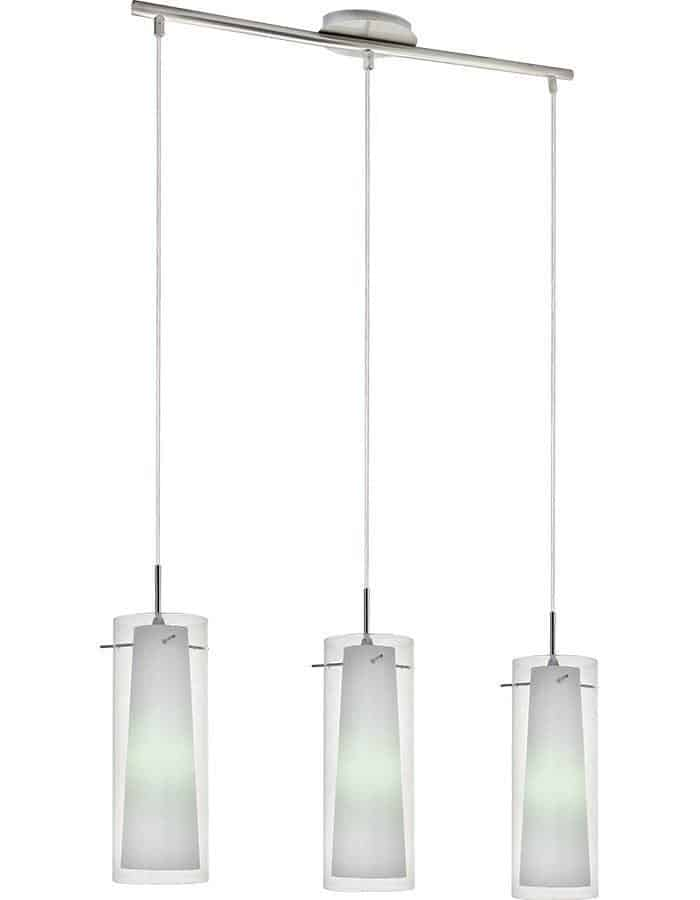 Pendant - Amore Triple Clear Glass Pendant Light