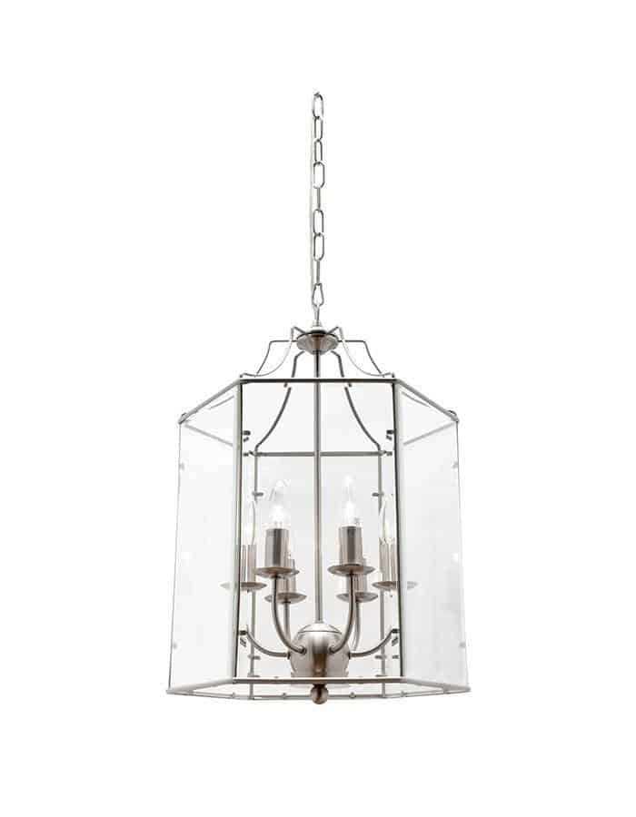 Pendant - Arcadia Glass Six Light Pendant Light