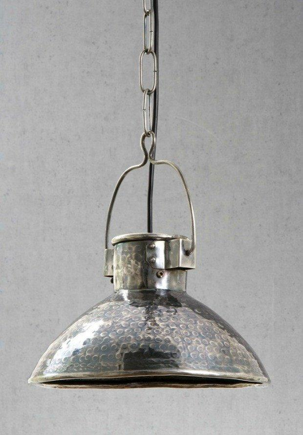 Pendant - Ashton Antique Silver Pendant Light
