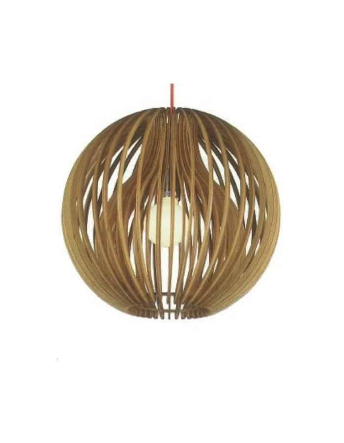 Pendant - Atlantis Scandinavian Wood Pendant Light