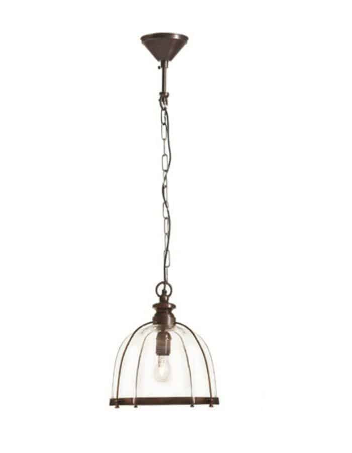 Pendant - Avery Antique Brass Pendant Light