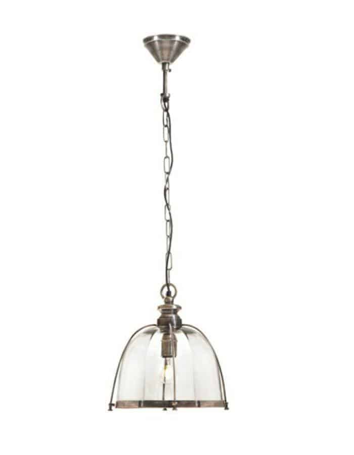 Pendant - Avery Antique Silver Pendant Light
