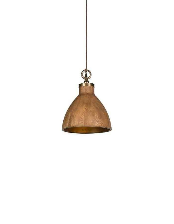 Pendant - Big Sur Wood Pendant Light Large