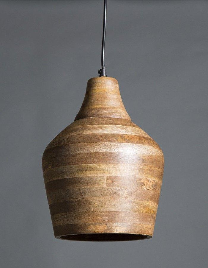 Pendant - Bistro Wooden Pendant Light