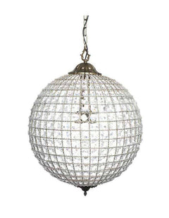 sc 1 st  Chic Chandeliers & Bohemia Crystal Globe Pendant Light Large - Chic Chandeliers
