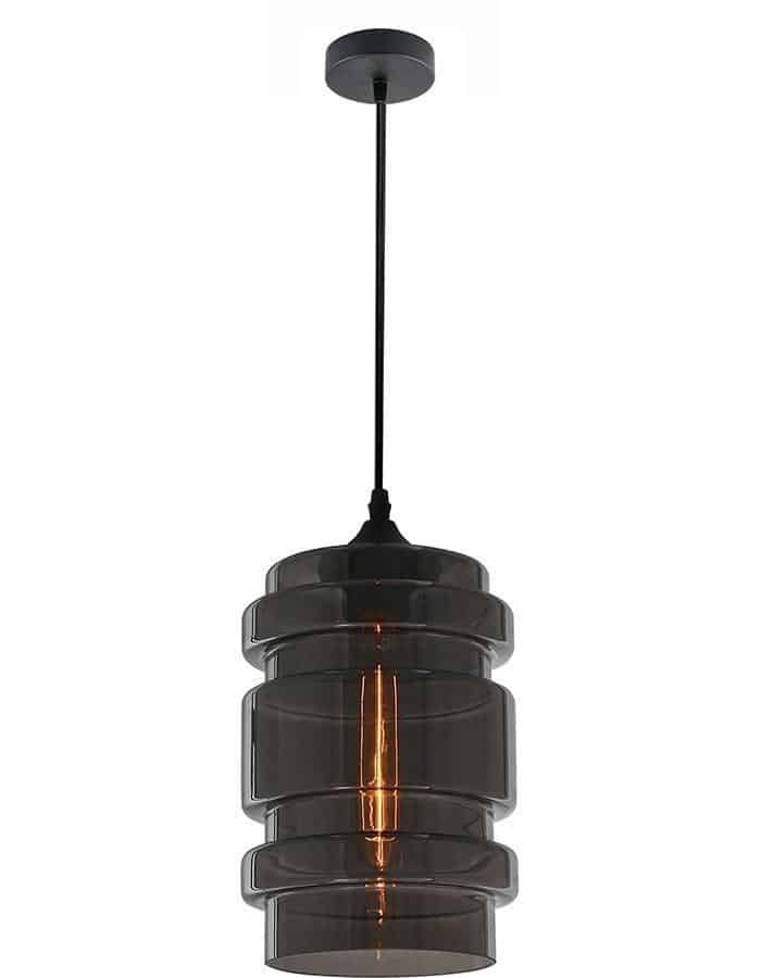 Pendant - Botte Smoke Glass Pendant Light
