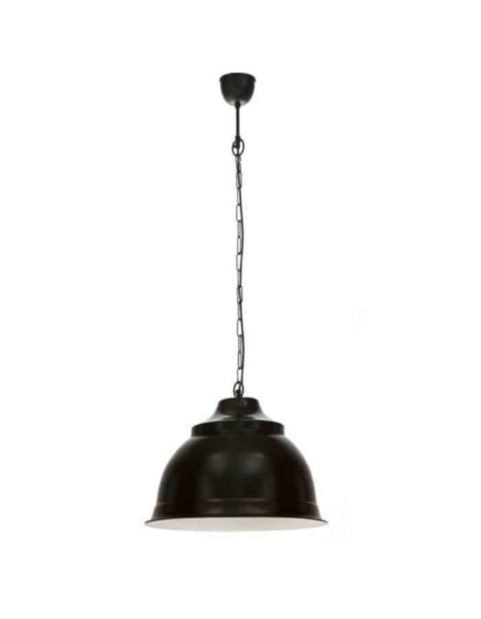 Pendant - Brasserie Large Rustic Pendant Lights Black