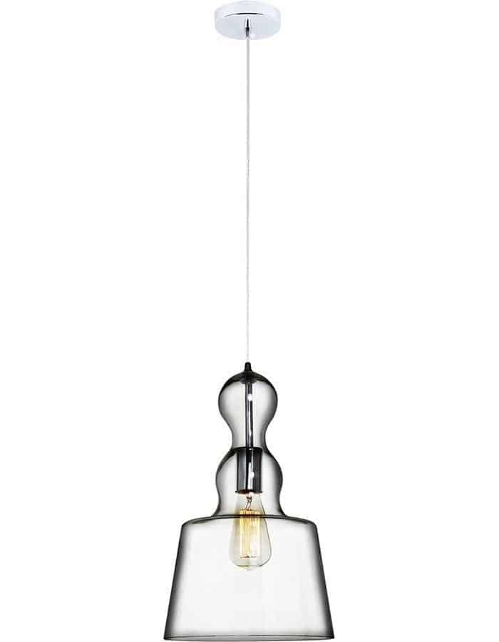 Pendant - Campana Clear Glass Pendant Light