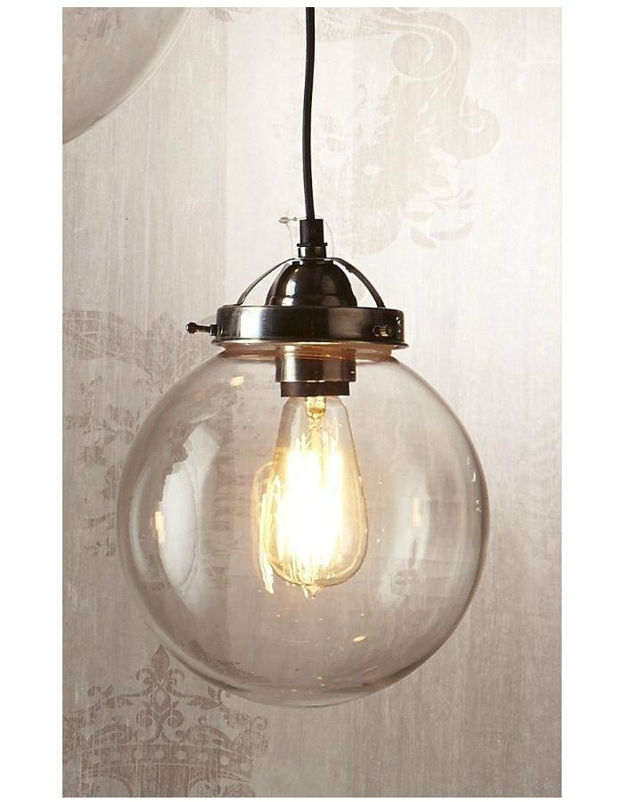 Pendant - Celeste Glass Pendant Light Small