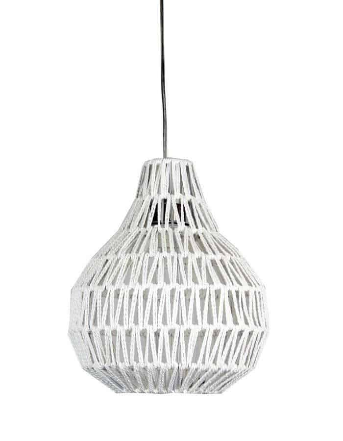 Pendant - Cooper Small White String Pendant Light