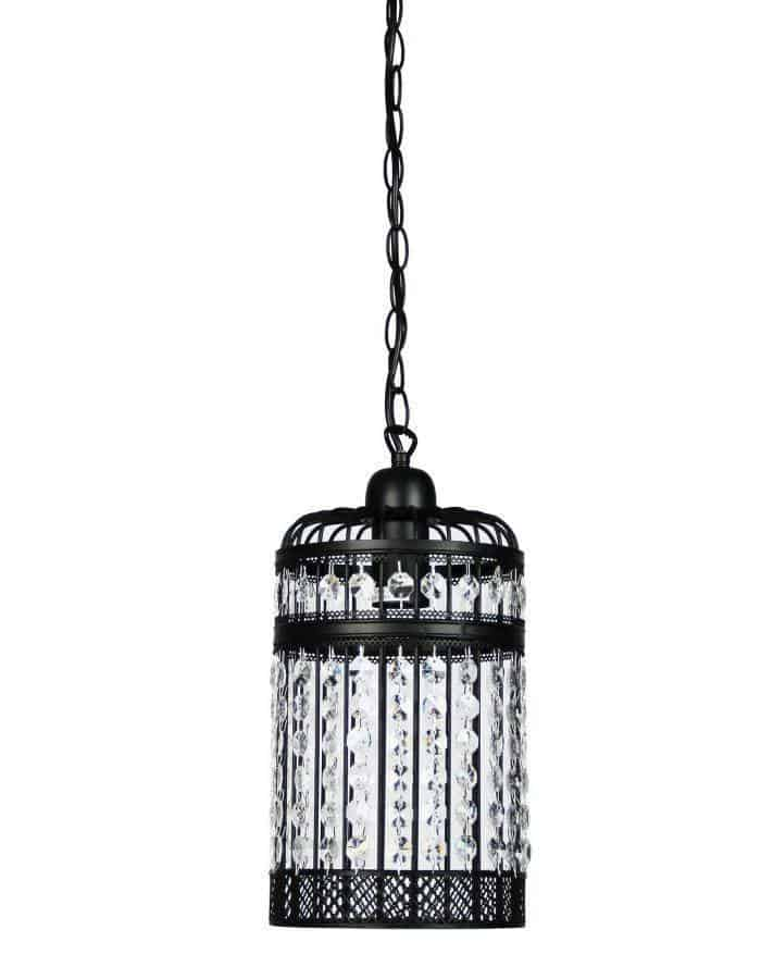 Pendant - Esdale Black Pendant Light