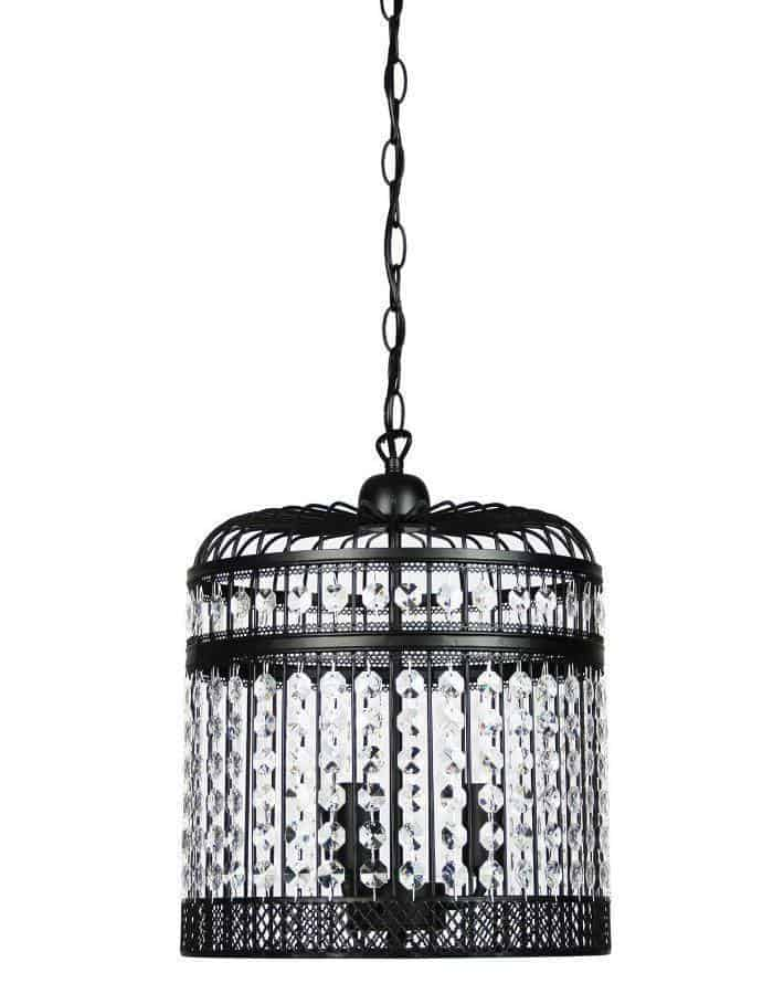Pendant - Esdale Black Pendant Light Large