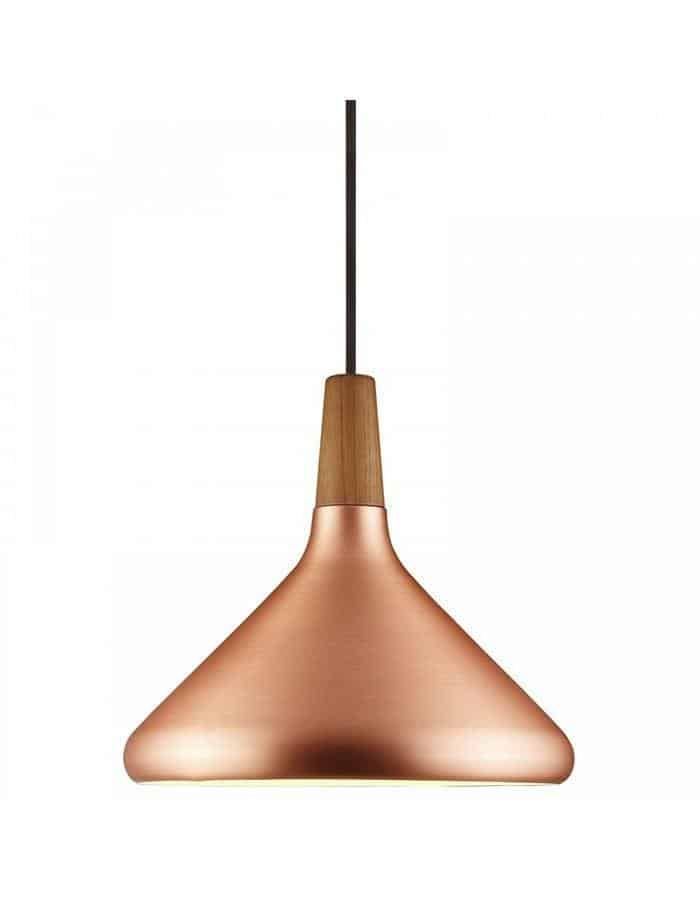 Pendant - Float 27 Brushed Copper Pendant Light