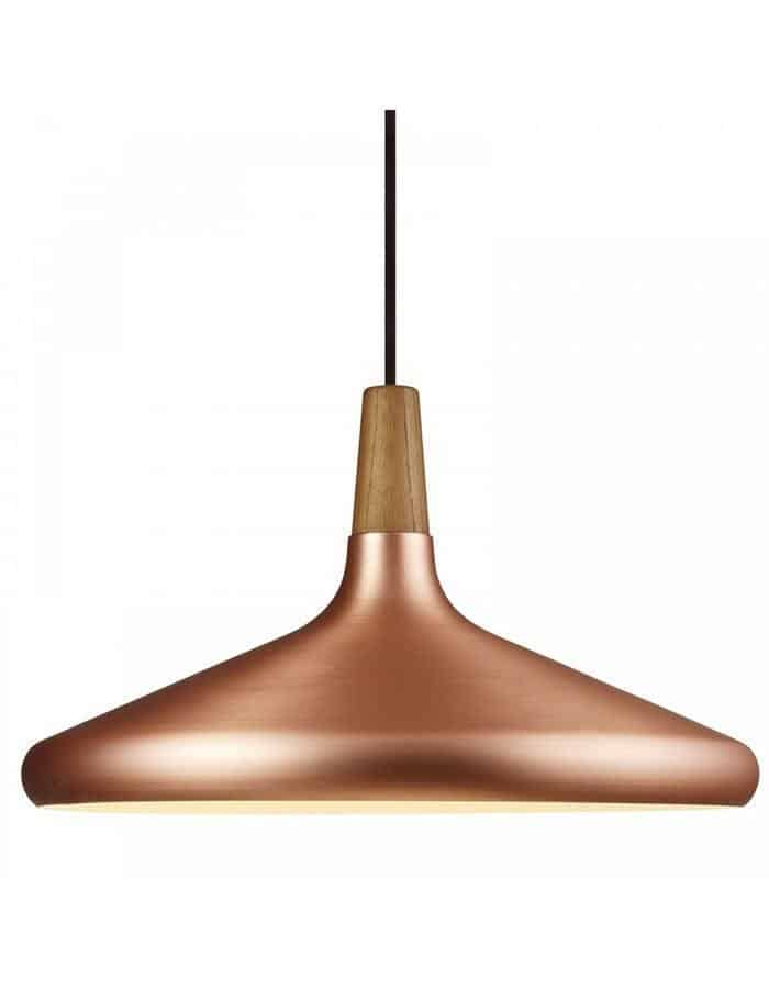 Pendant - Float 39 Brushed Copper Pendant Light