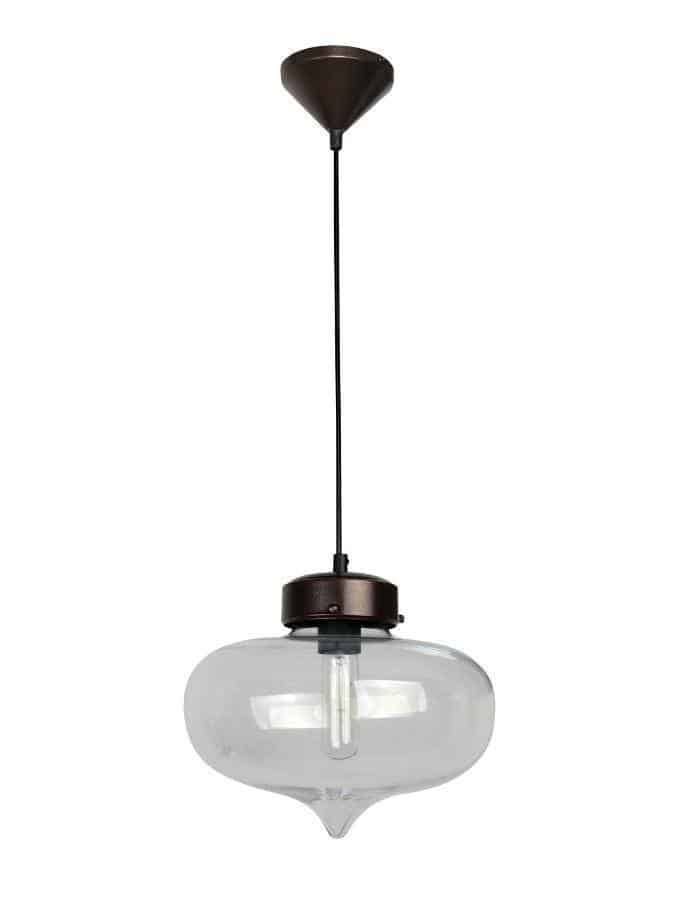 Pendant - Hartford #14 Pendant Light Clear Glass
