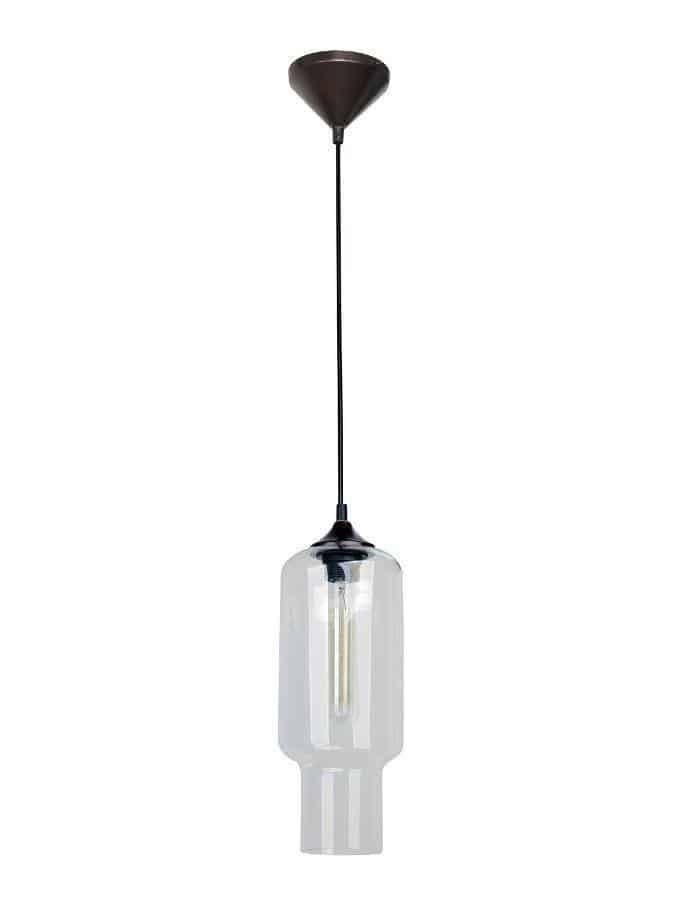 Pendant - Hartford #16 Pendant Light Clear Glass