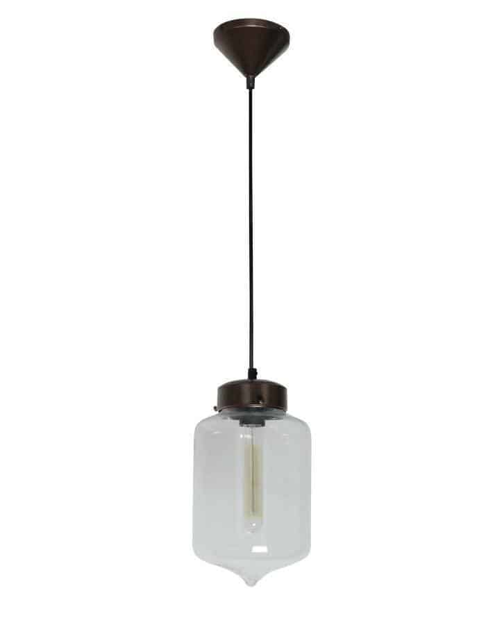 Pendant - Hartford #17 Pendant Light Clear Glass