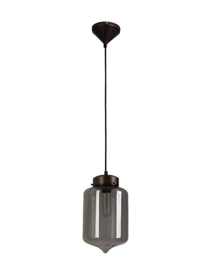 Pendant - Hartford #17 Pendant Light Smoked Glass