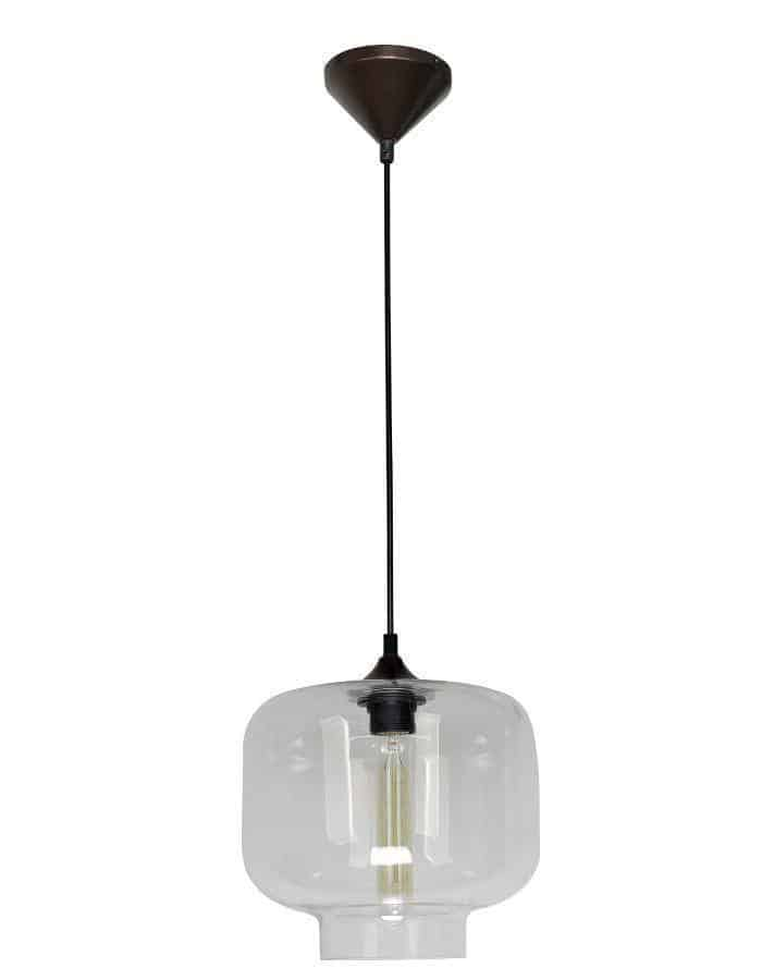 Pendant - Hartford #21 Pendant Light Clear Glass