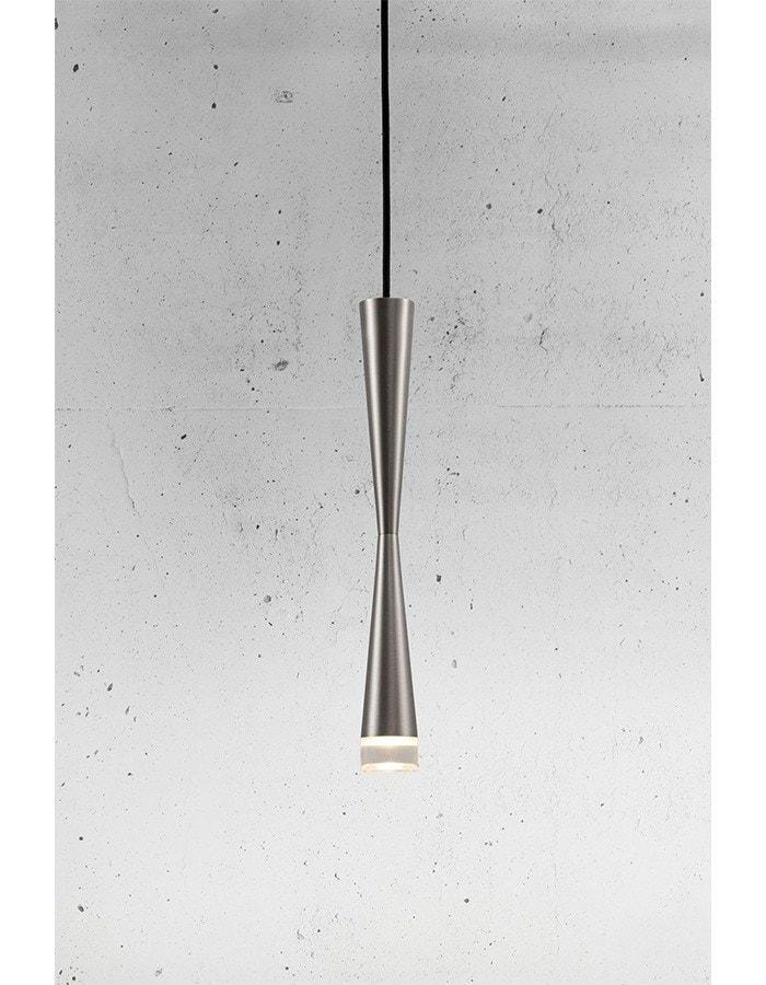 Pendant - Loong Brushed Steel LED Pendant Light