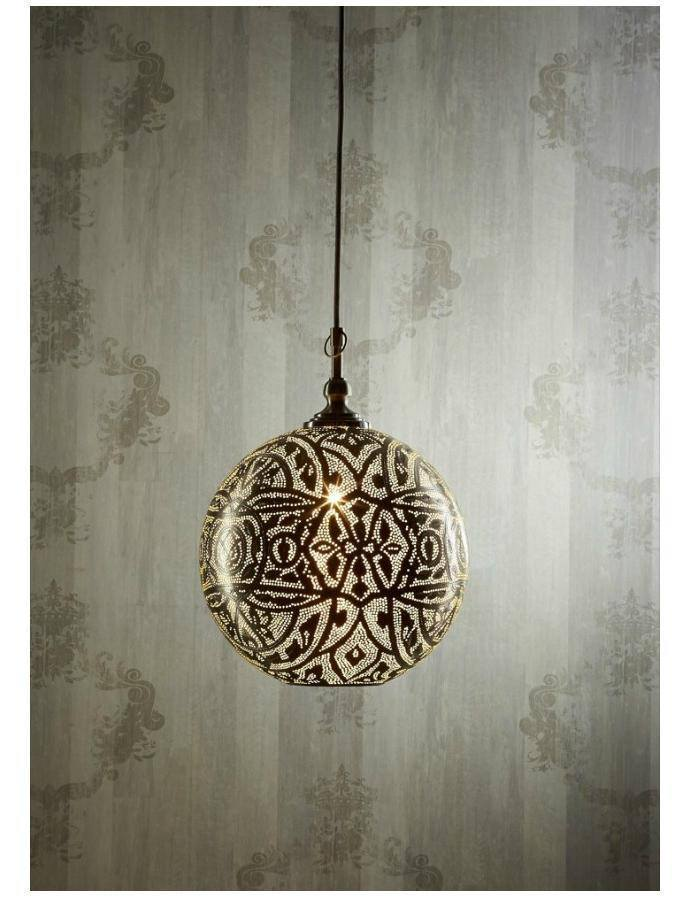 Moroccan ball pendant light chic chandeliers moroccan ball pendant light aloadofball Gallery