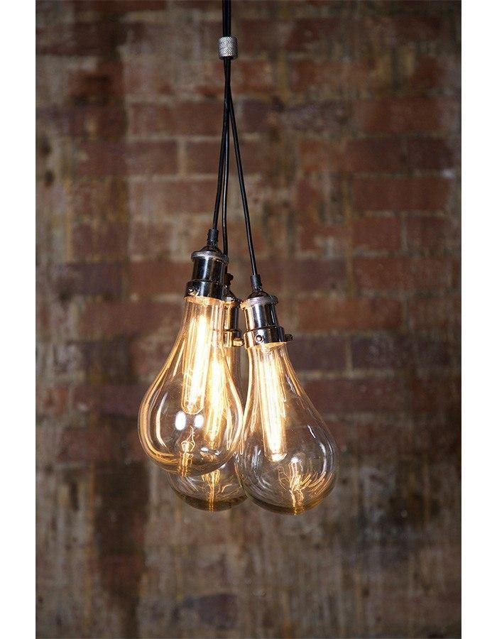 Pendant - Odean Triple Glass Pendant Light