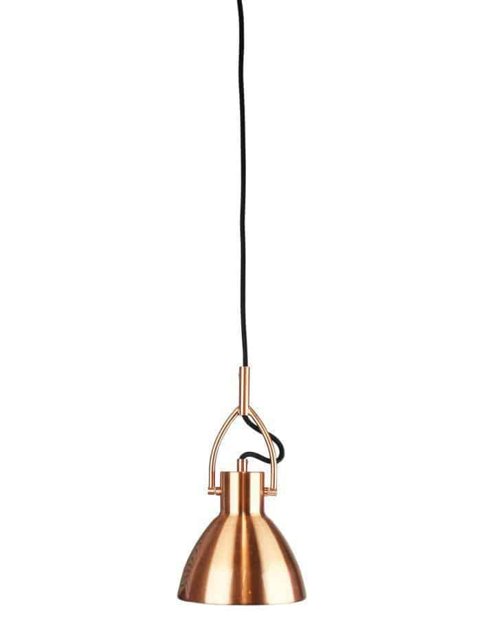 Perno Copper Pendant Light Small Chic Chandeliers