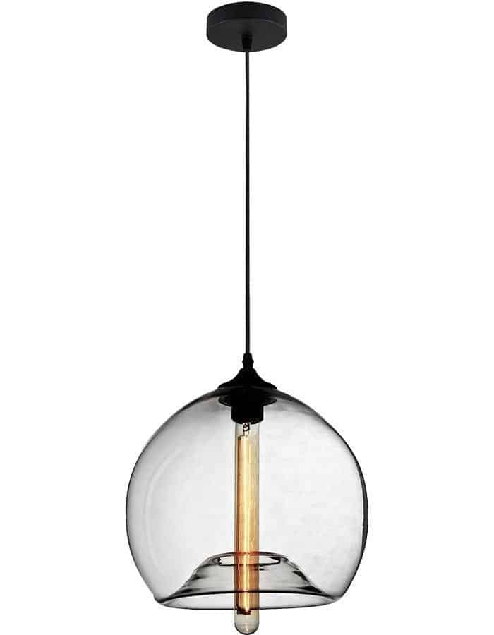 Pendant - Polo Clear Glass Pendant Light