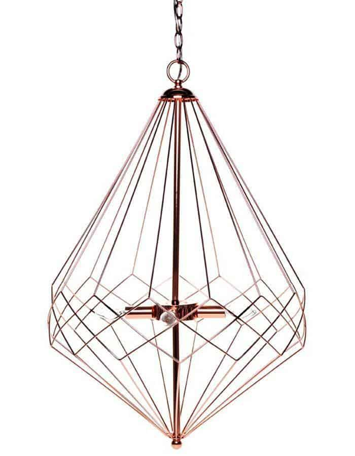 Pendant - Portland Copper Pendant Light Large