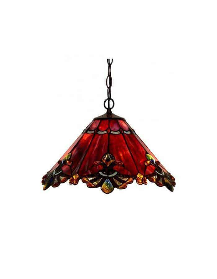 Pendant - Regal Tiffany Leadlight Pendant Light