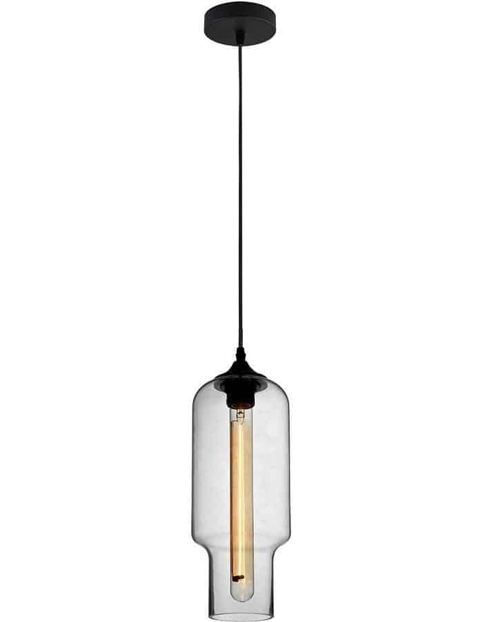 Pendant - Zucca Clear Glass Pendant Light