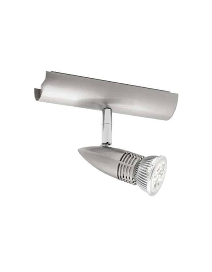 Proton Satin Chrome LED Spotlight